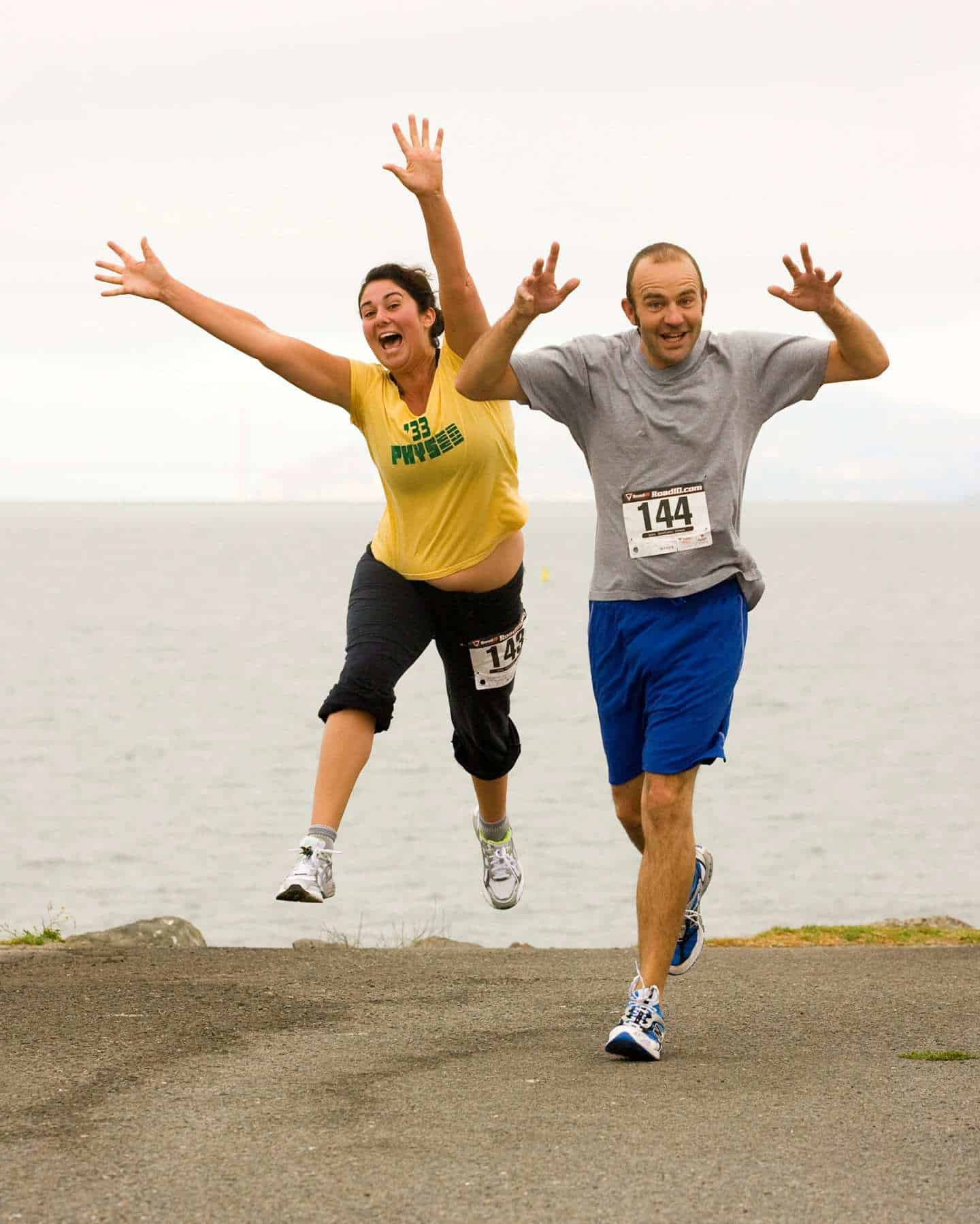 Good luck with your run- don't forget the fun!